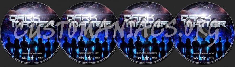 Dark Matter Season 1 dvd label