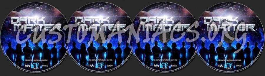 Dark Matter Season 1 blu-ray label
