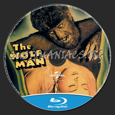 The Wolf Man (1941) blu-ray label