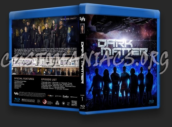 Dark Matter Season 1 blu-ray cover