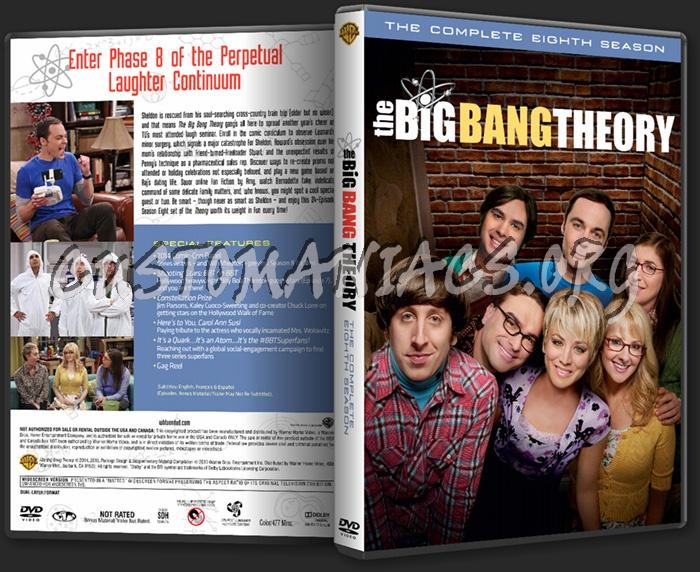 The Big Bang Theory - Season 8 dvd cover
