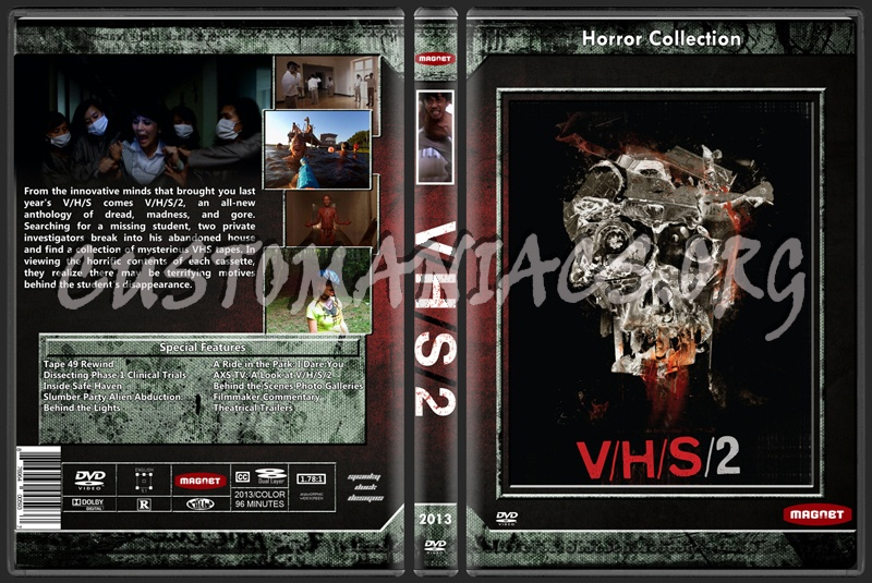 Vhs 2 dvd cover
