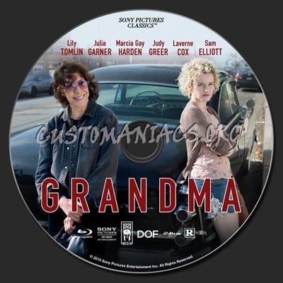 Grandma blu-ray label