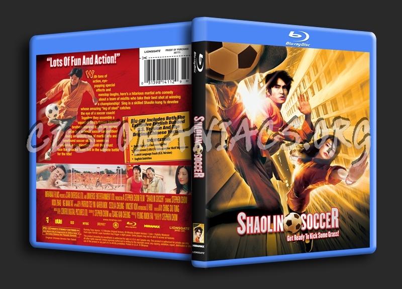 Shaolin Soccer blu-ray cover