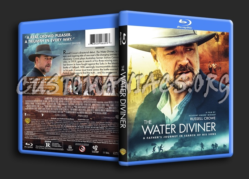 The Water Diviner blu-ray cover