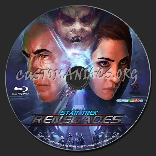 Star Trek: Renegades blu-ray label