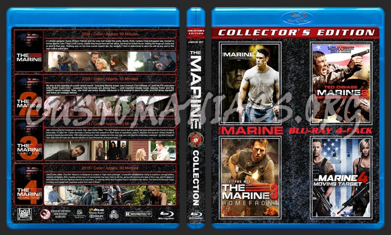 The Marine Collection blu-ray cover
