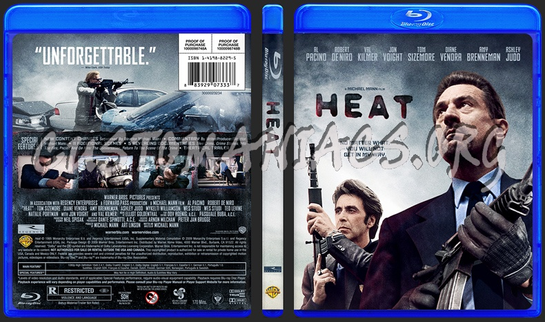 Heat: Michael Mann explains what he changed in 4K Blu-ray ...