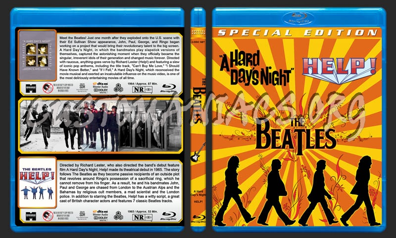 The Beatles Double Feature blu-ray cover