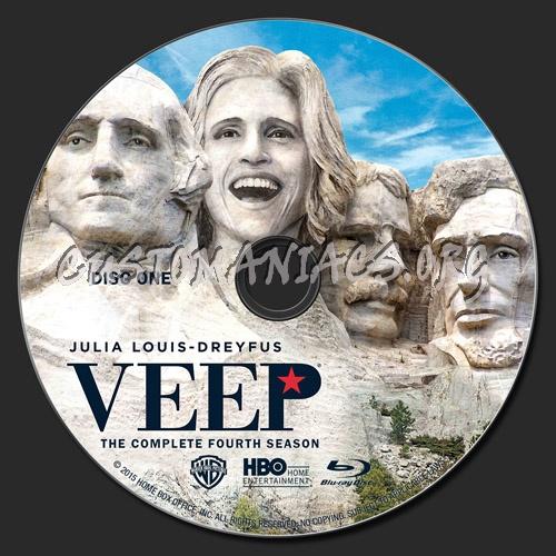 Veep Season 4 blu-ray label