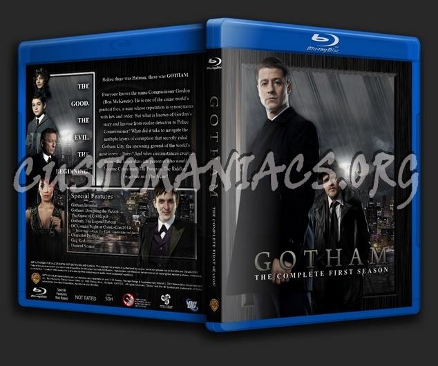 Gotham - Season 1 blu-ray cover