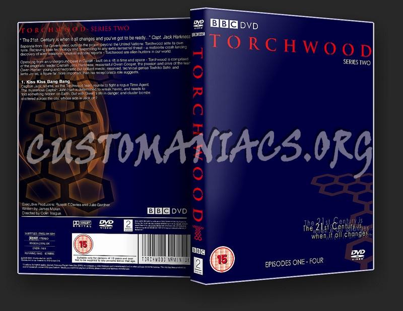 Torchwood dvd label