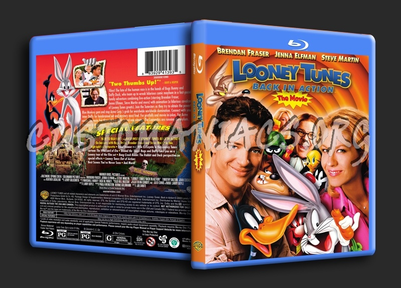 Looney Tunes Back In Action - The Movie blu-ray cover