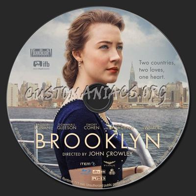 Brooklyn blu-ray label