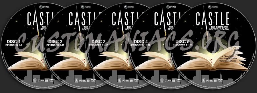 Castle - Season 7 dvd label