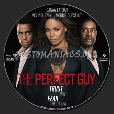 The Perfect Guy dvd label