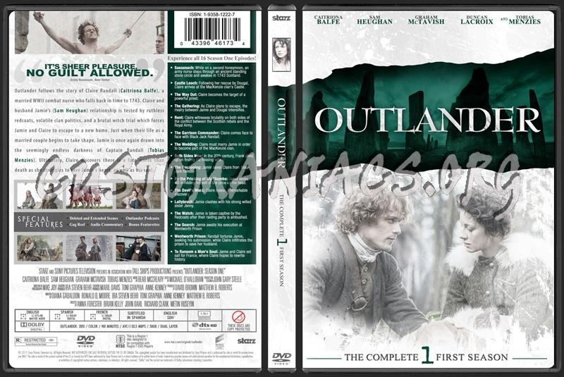 Outlander Season One dvd cover
