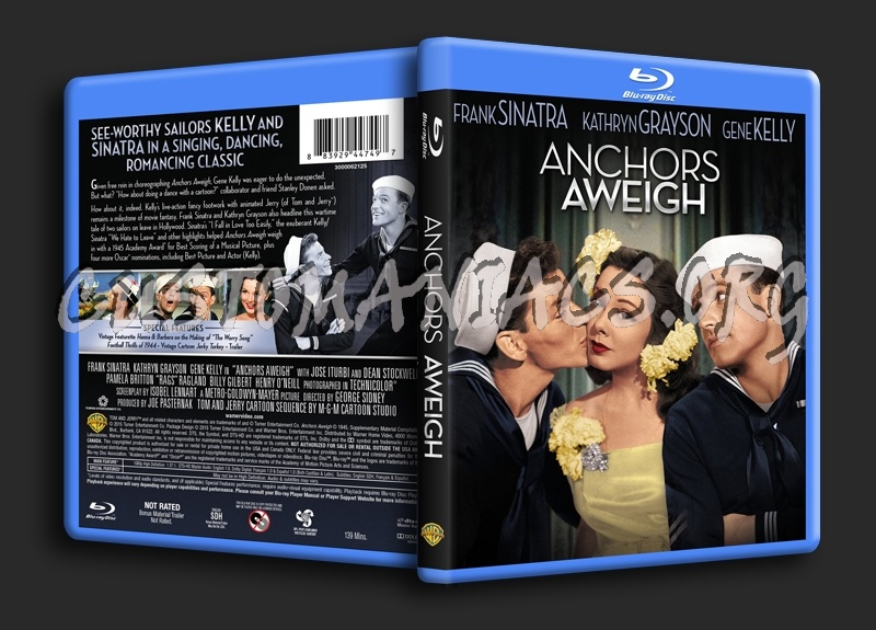 Anchors Away blu-ray cover
