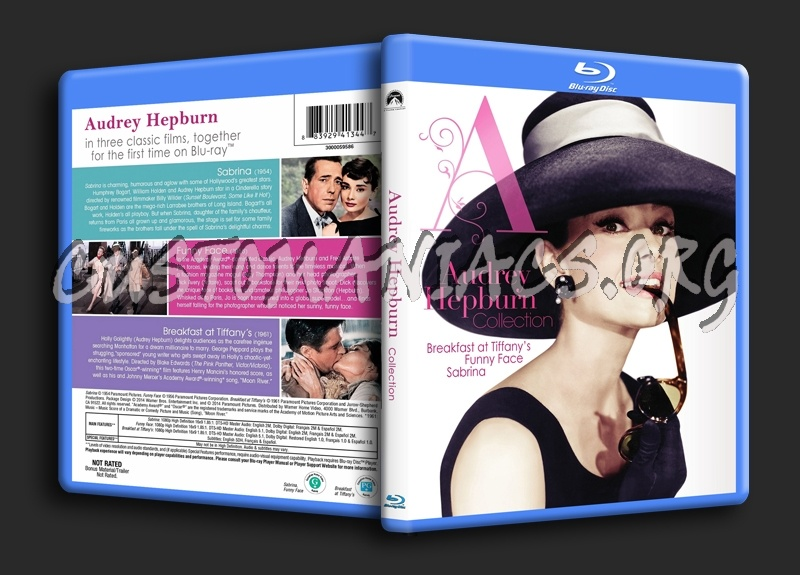 Audrey Hepburn Collection blu-ray cover