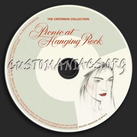 029 - Picnic At Hanging Rock dvd label