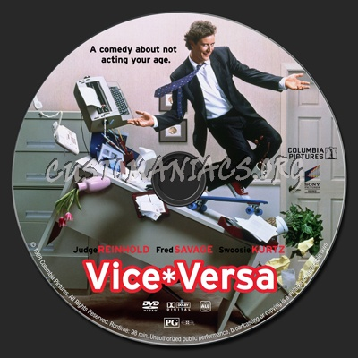 vice versa dvd label dvd covers labels by customaniacs. Black Bedroom Furniture Sets. Home Design Ideas