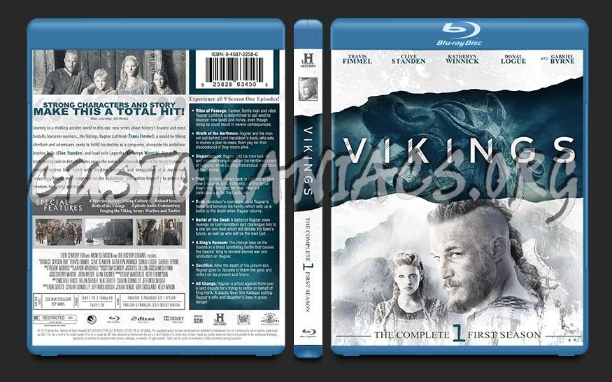 Vikings Season One blu-ray cover