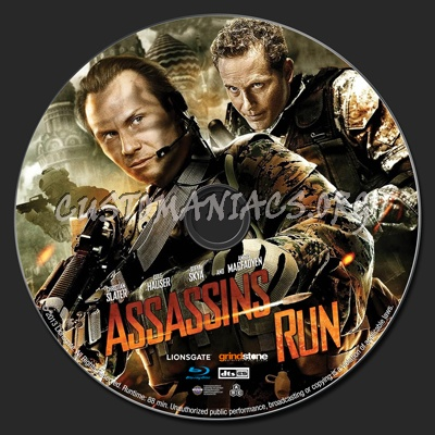 Assassins Run blu-ray label - DVD Covers & Labels by ...