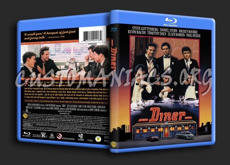 Diner blu-ray cover
