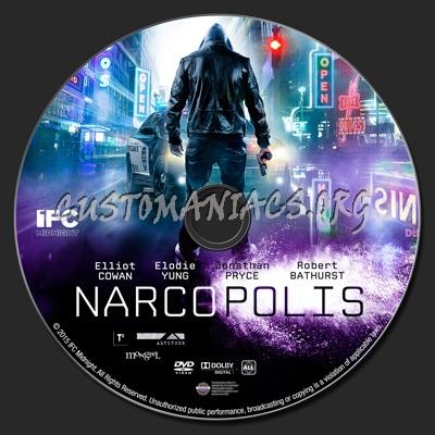 Narcopolis dvd label