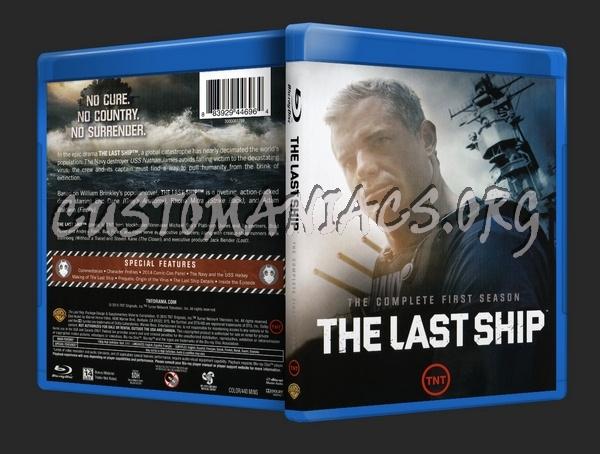 The Last Ship Season 1 blu-ray cover