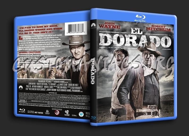 El Dorado blu-ray cover