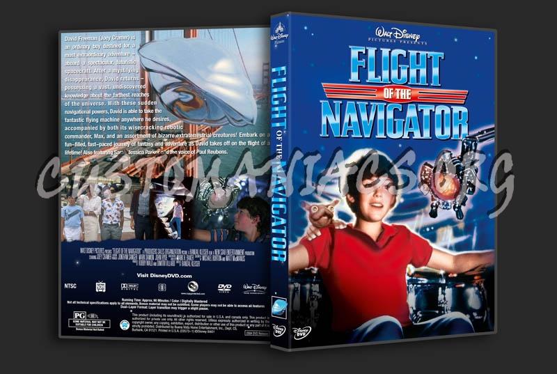 Flight of the Navigator dvd cover