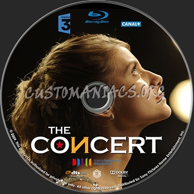 Le concert blu-ray label