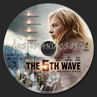 The 5th Wave (aka: The Fifth Wave) dvd label - DVD Covers