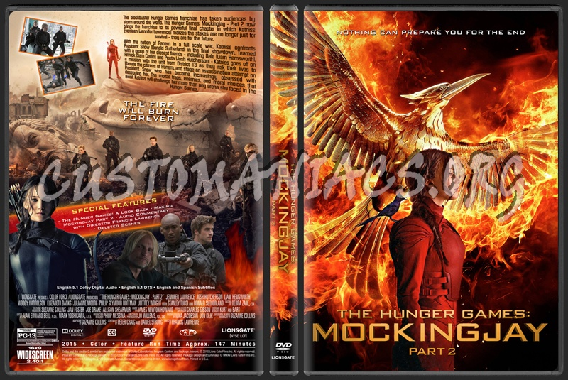 Covers. Box. Sk::: the hunger games mockingjay part 2 (2015.