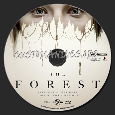 The Forest (2016) blu-ray label
