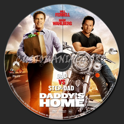 Daddy's Home dvd label - DVD Covers & Labels by Customaniacs