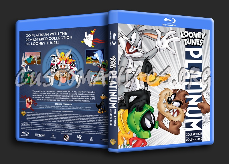Looney Tunes Platinum Collection Volume 1 blu-ray cover