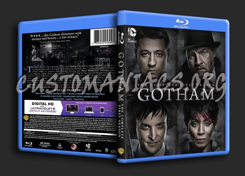 Gotham Season 1 blu-ray cover