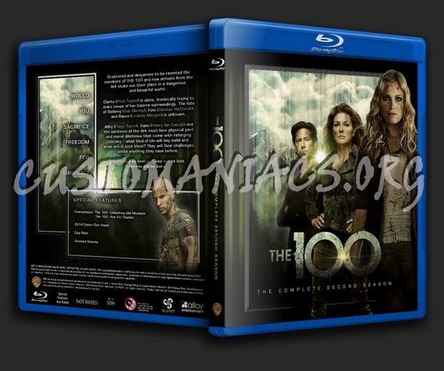 The 100 - Season 2 blu-ray cover