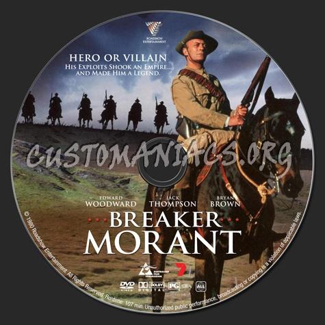 Breaker Morant dvd label