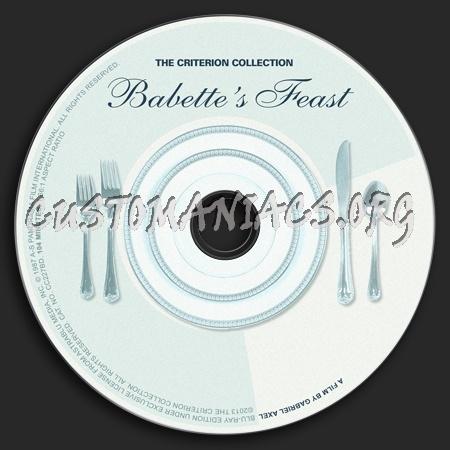 665 - Babettes Feast dvd label