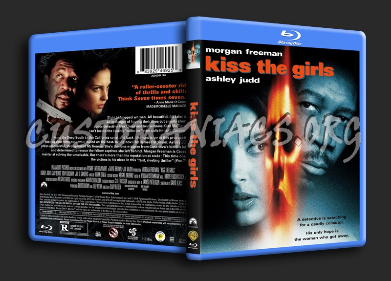 Kiss the Girls blu-ray cover