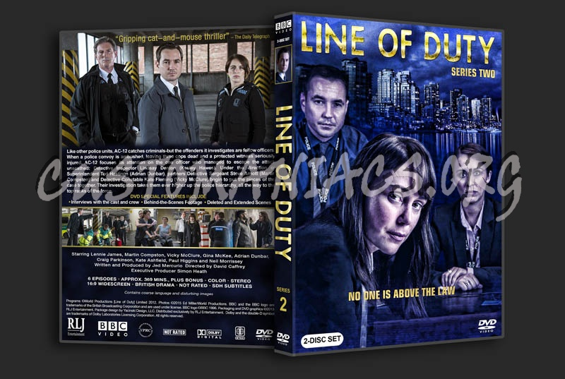Line of Duty - Series 2 dvd cover