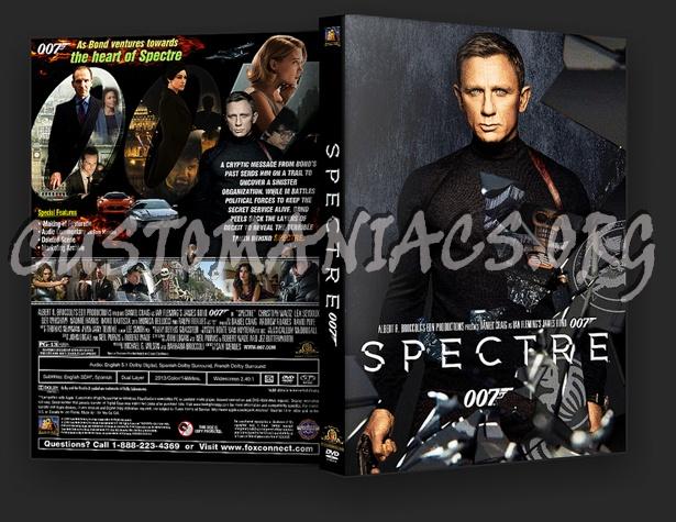 Spectre dvd cover