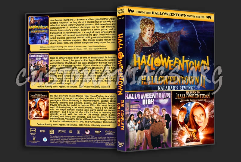 halloweentown the complete collection dvd cover