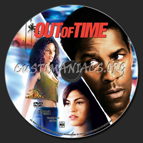 Out Of Time dvd label
