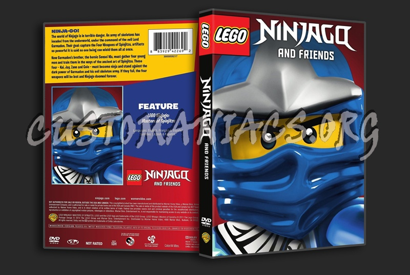 Lego Ninjago and Friends dvd cover