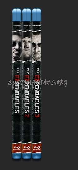 The Expendables Collection blu-ray cover