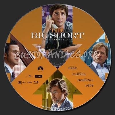 The Big Short blu-ray label